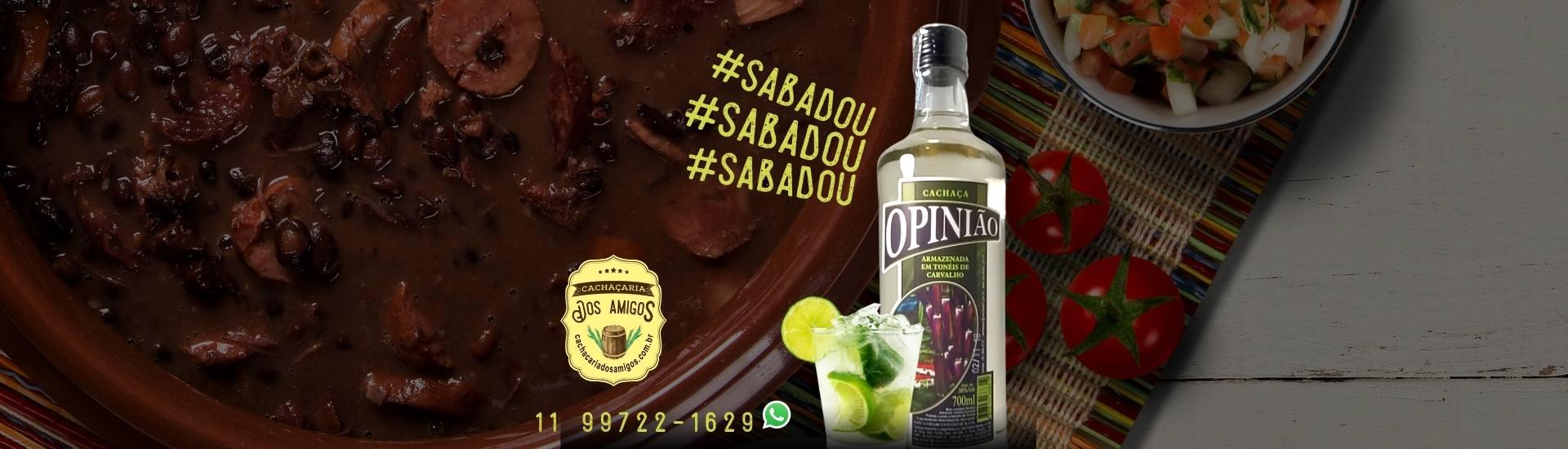 Cachaça Opinião_feijoada_caipirinha - cachacaria dos amigos