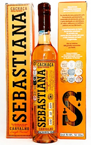 Cachaça Sebastiana Carvalho Single Barrel
