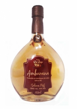 Cachaça Du Brejo Amburana Oval 750ml