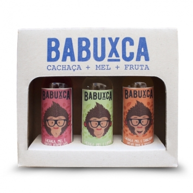 Kit Babuxca com 3 sabores de 50 ml